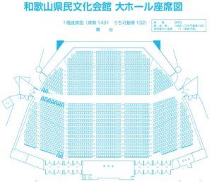 和歌山県民文化会館 大ホール1F