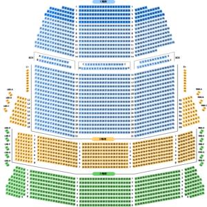 大阪フェイスティバルホール座席
