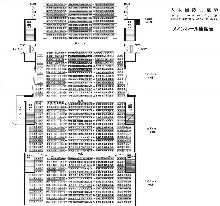 大阪国際会議場1