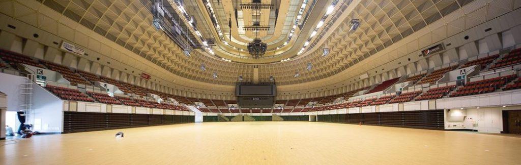 神戸ワールド記念ホール内観