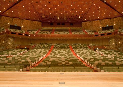 倉敷文化会館座席イメージ