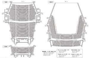 埼玉ウェスタ川越 大ホール座席