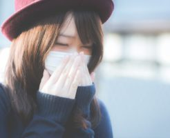 冬の体調不良イメージ画像
