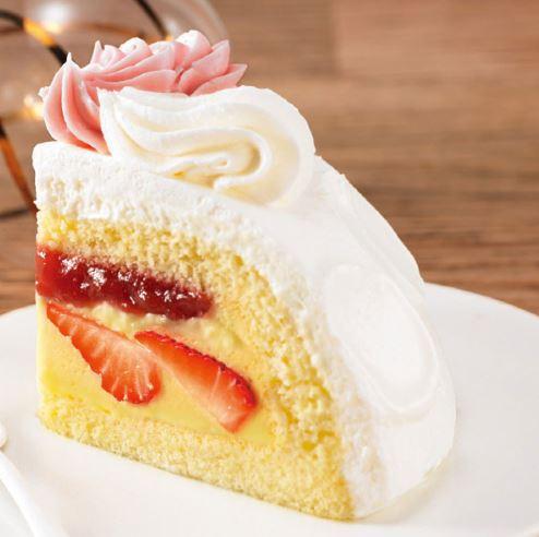 かまくらケーキ断面