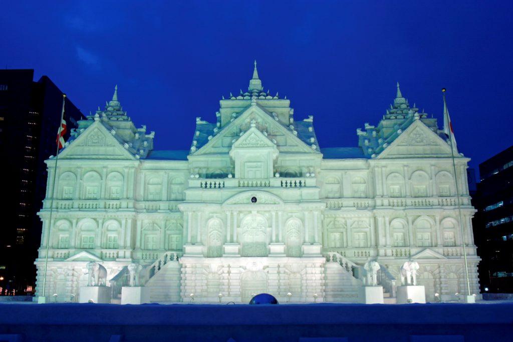 札幌雪祭りイメージ